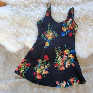 💜 Floral Skater Dress